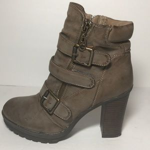 G by Guess Shoes - G by Guess Faux Leather Boot Size 7 1/2 Medium